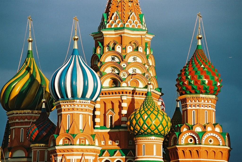 Symbol Moskwy - stojąca na Placu Czerwonym cerkiew Wasyla Błogosławionego