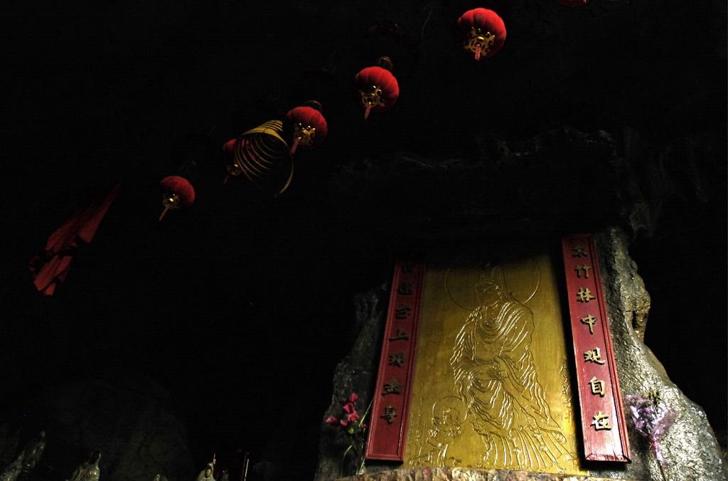 Ukryta w skale świątynia buddyjska