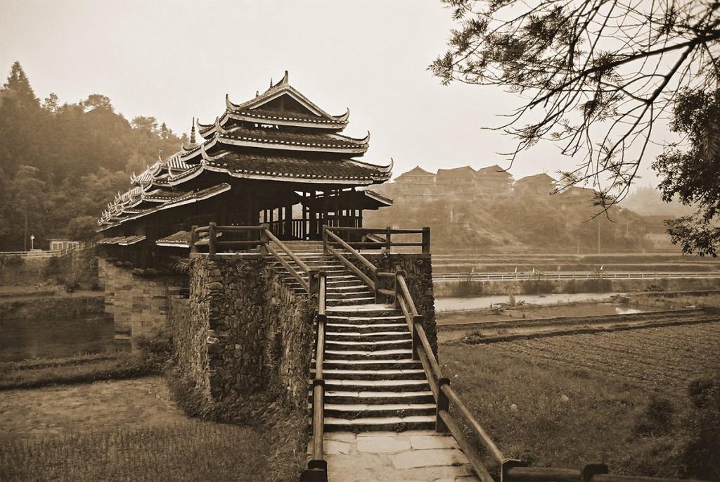 Nie tylko most ale i okolica nie zmieniła się tu od kilkuset lat