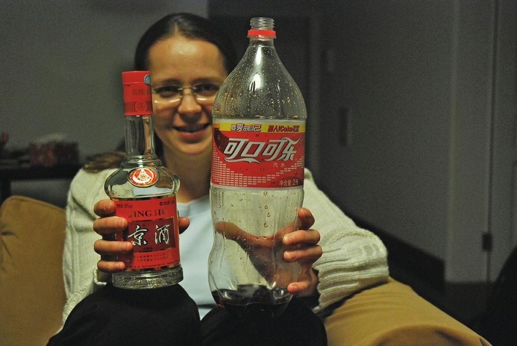 Autorka bloga z ulubionym alkoholem :) i przepojką