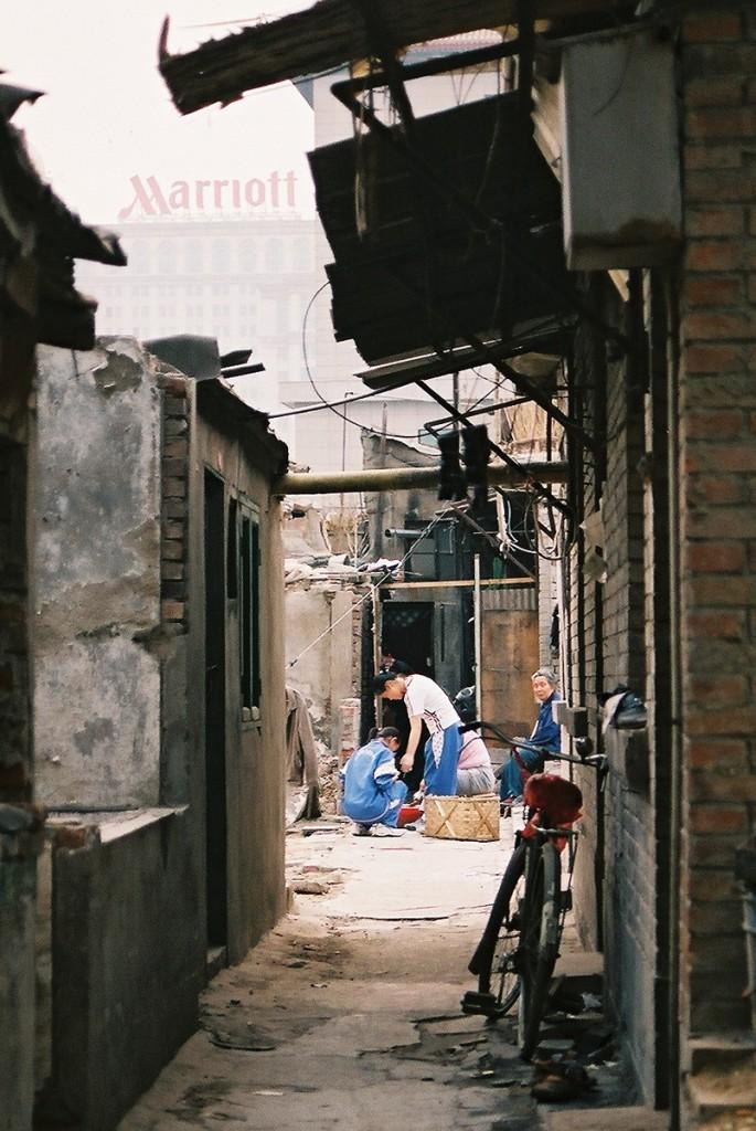 Stare hutongi ustępują miejsca nowoczesnym hotelom