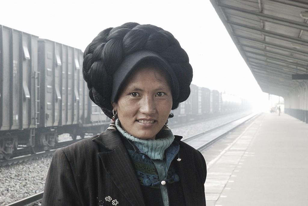 Fryzura na długą podróż (to nie był dworzec w Szanghaju :))