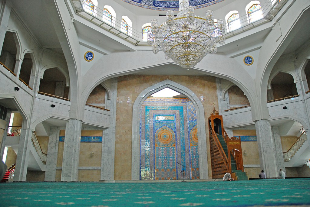 W meczecie...
