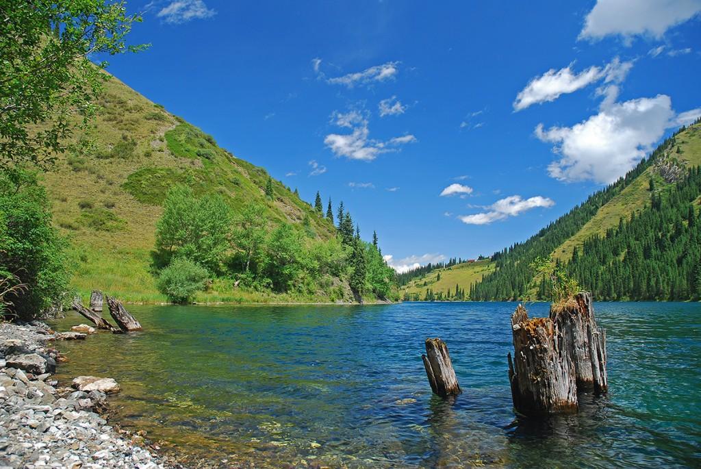 Znów pierwsze jezioro