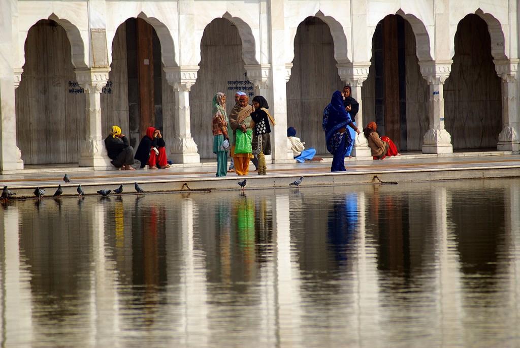 Świątynia sikhijska zdecydowanie przypadła nam do gustu